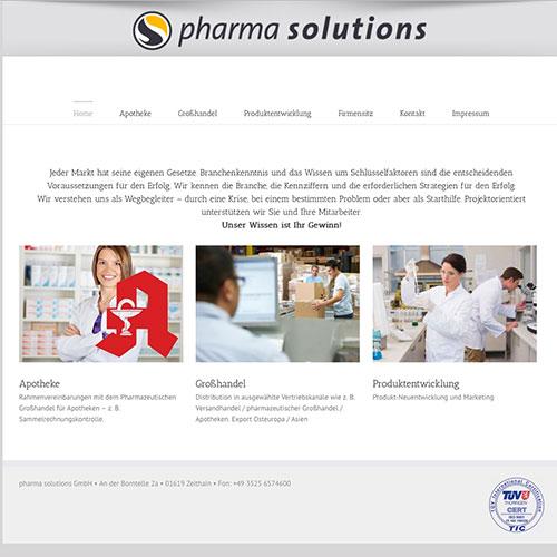 Pharmasolutions